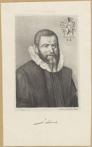 Portret van Sibrandus Lubbertus (1555-1625)