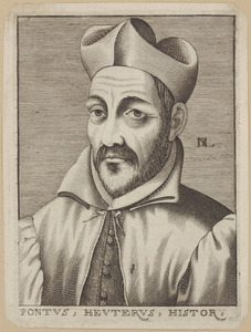 Portret van Pontus Heuterus (1535-1602)