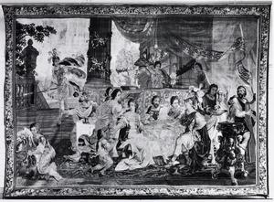 Bruiloft van Perseus en Andromeda