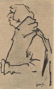 Portret van David Jessurun Lobo (1884-1926)