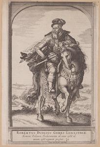 Ruiterportret van Robert Dudley (1532-1588)