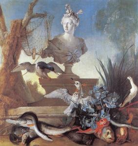 Allegorie van het continent Azië