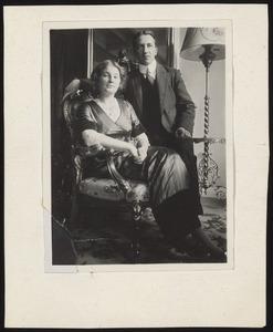 Piet Mondriaan en zijn verloofde Greta Heybroek
