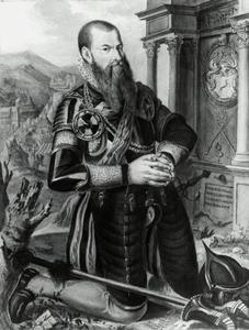 Portret van Steven de Witt (?-1571)