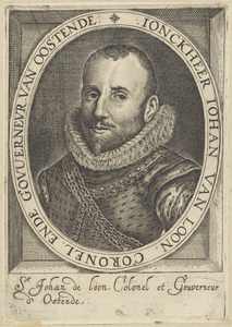 Portret van Johan van Loon (....-1604)