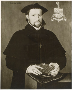 Portret van Jasper de Bovincourt, abt van de Sint-Pietersabdij te Oudenburg (1529-1577)