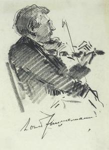 Portret van Louis Zimmerman (1873-1954)