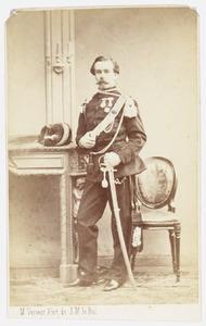 Portret van Arhur Isidorius Maria Celestinus de Posson (1828-1909)