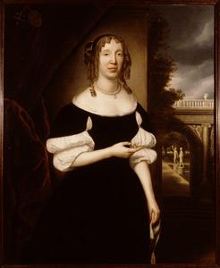 Portret van Elisabeth van der Meer (1626-1708)
