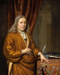 Portret van een man, waarschijnlijk Willem (1629-1683) of Jan (1626-1678) van der Voort