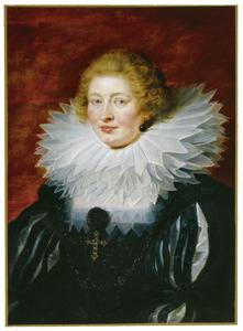 Portret van Hypolite de Male (?-?), echtgenote van Henri de Vicq, seigneur de Meulevelt (1573-1651)