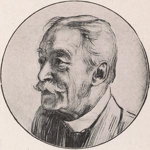Portret van Johan Gram (1833-1914)