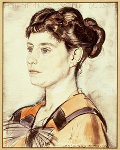 Portret van Helene Bernardina Johanna Zenobia Maria Vonk de Both (1883-1967)