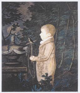Portret van Allert de Lange (1801-1846)