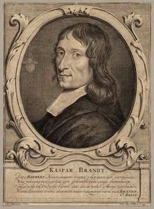 Portret van Caspar Brandt (1653-1696)