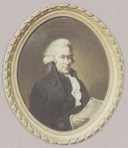 Portret van Jhr. Otto Willem Johan Berg (1752-1825)