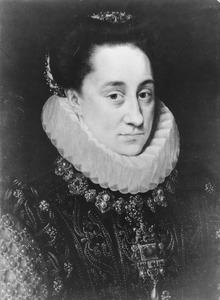 Portret van Maria van Oranje-Nassau (1556-1616)