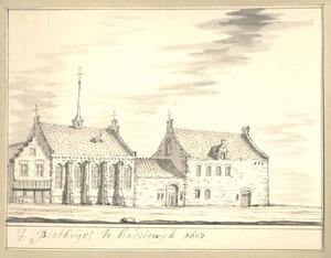 Harderwijk, het Pesthuis anno 1607