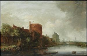 Haarlem, de Eendjespoort
