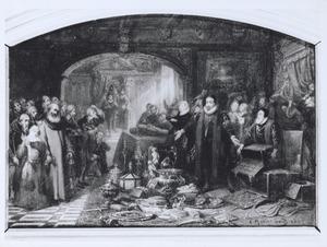 Willem de Zwijger verkoopt zijn kostbaarheden
