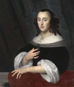 Portret van Suzanna Rijckaert (1635- )