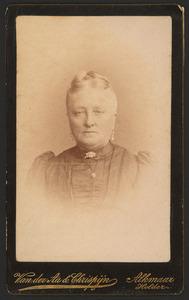 Portret van Aaltje Breebaart