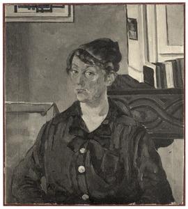 Portret van mejuffrouw J.Th.M. Schoondergang