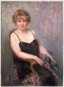 Portret van Margaretha Clasina Bosman (1868-1938)
