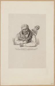 Jan van Walre als eerste Grootmeester der orde van Democriet