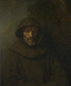 Een Franciscaner monnik