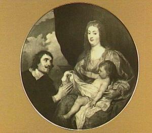 De Madonna met Kind aanbeden door Abt Cesare Alessandro Scaglia