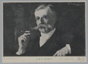 Portret van Anton Gilles Cornelis van Duyl