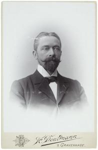 Portret van Willem Jacobus Adrian (1847-1926)