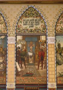 1478 David van Bourgondie geeft te Vollenhoven aan Overijssel zijn tweeden landbrief