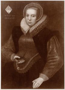 Portret van van der Burcht