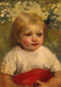 Portret van Martha Hamdorff (1889-1977)