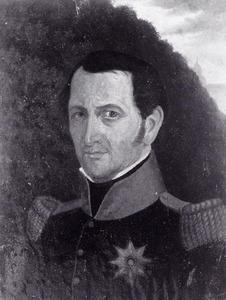 Portret van Paulus Roelof Cantzlaar (1771-1831)