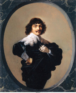 Portret van Jean Fontaine (1608-1668)