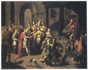 Het huwelijk van David en Mikal (1 Samuel 18:27)