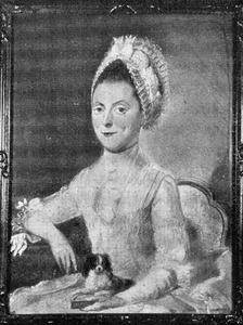 Portret van Wilhelmina Frederica van Haren (1734- )