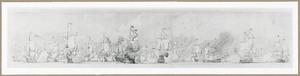 Zeeslag tussen de Engelse en Hollandse vloot