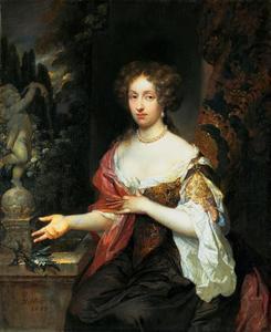 Portret van Maria Timmers (1657-1753)