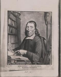 Portret van Johannes Roldanus (ca. 1619-1688)