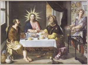 De maaltijd te Emmaus (Lucas 24:30)