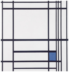 Composition de lignes et couleur: III