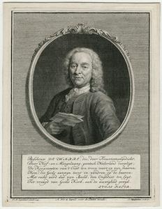 Portret van Jan de Marre (1696-1763)