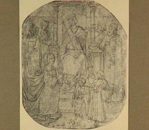Salomon en het raadsel van de Koningin van Sheba