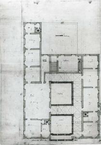 Palazzo della Meridiana: Plan van de hoofdverdieping