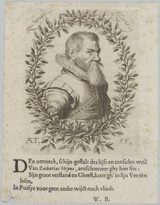 Portret van Zacharias Heyns (....-1640)