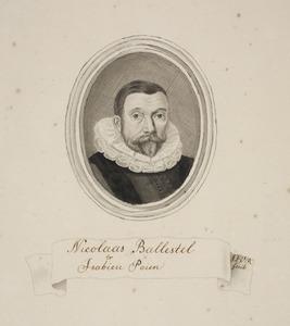 Portret van Nicolaas Balestel (1577-1650)